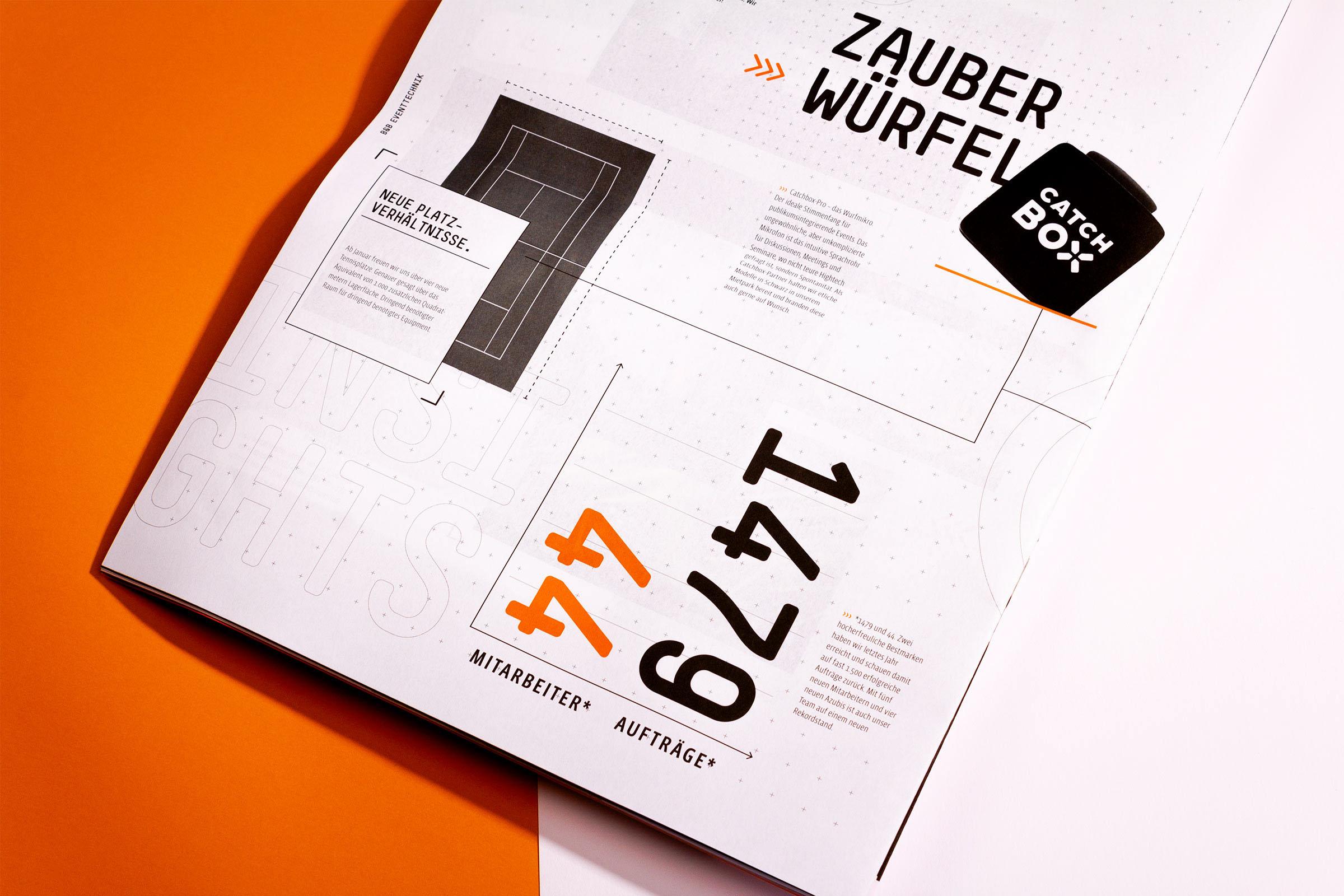 精美橘红杂志设计插图(12)