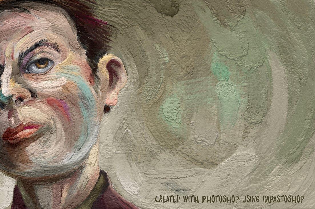 超逼真松油气味颜料笔刷厚涂绘画PS插件AD Impastoshop汉化版插图(5)