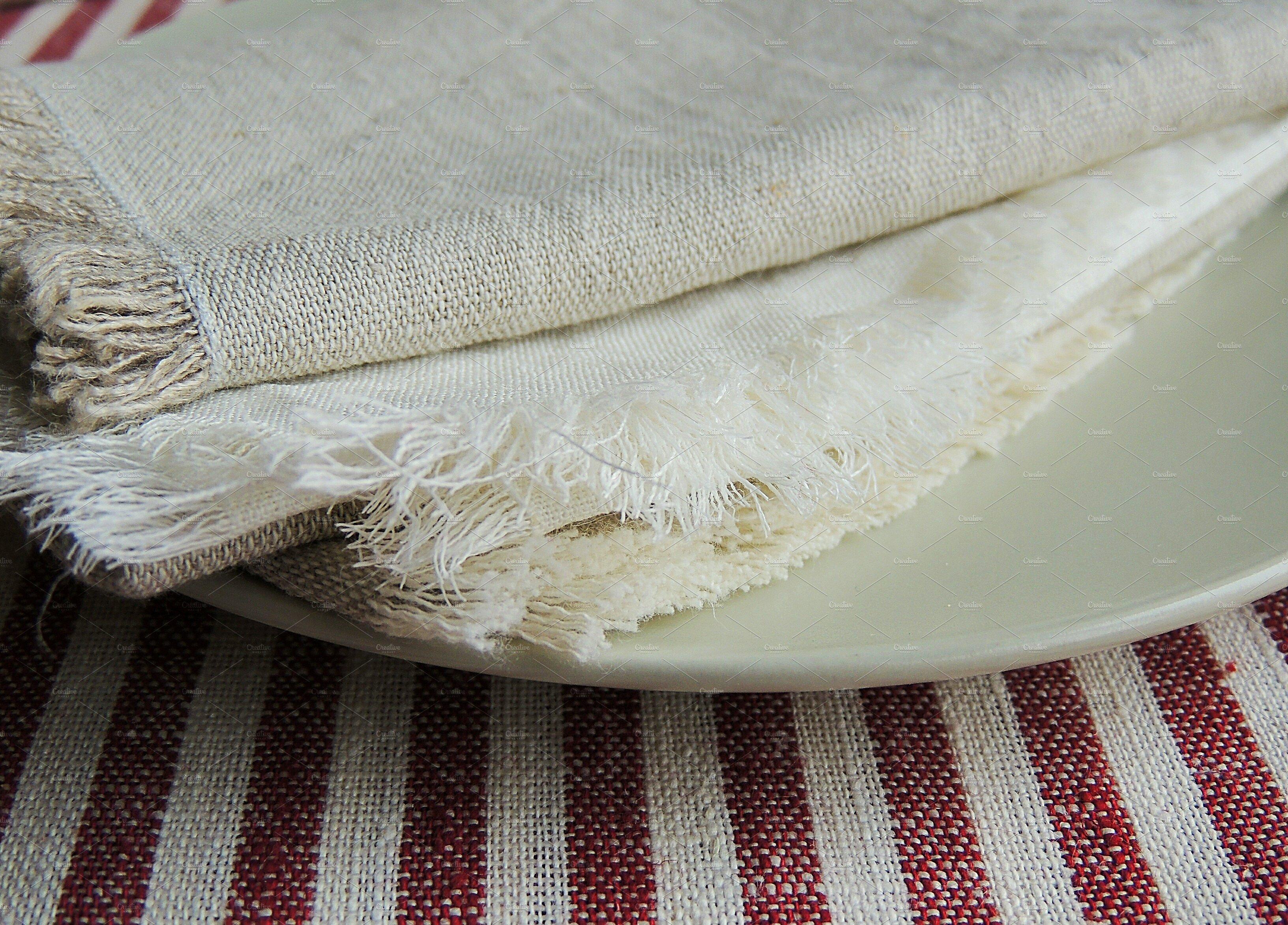 天然亚麻织物束高清图片插图(13)