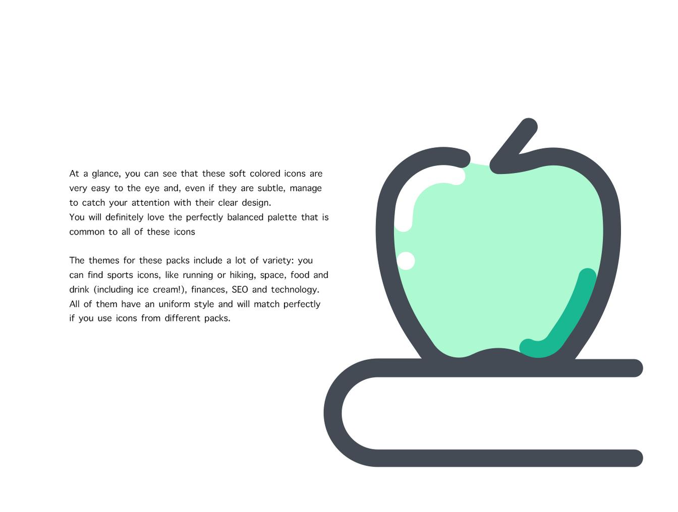 72个学校教育主题图标合集 72 School Icons插图1