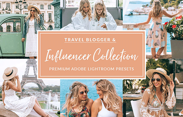 15个旅行冒险Lightroom预设集合 15 The Travel Influencer Lightroom Pack