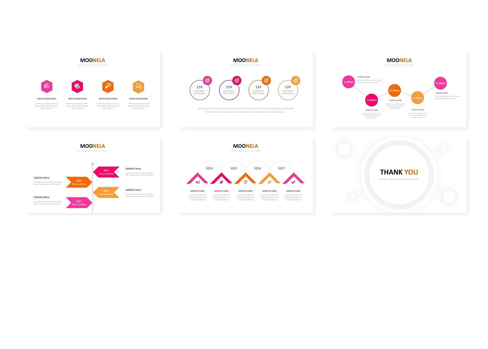 超巨量的红色企业介绍幻灯片模板 Super Huge Red Corporate Presentation Slide Template插图3