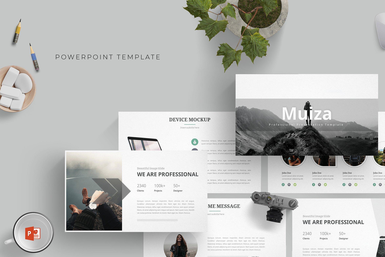 强大的灰色系的个人简历幻灯片模板  Powerful Grey Departmental Resume Slide Template插图