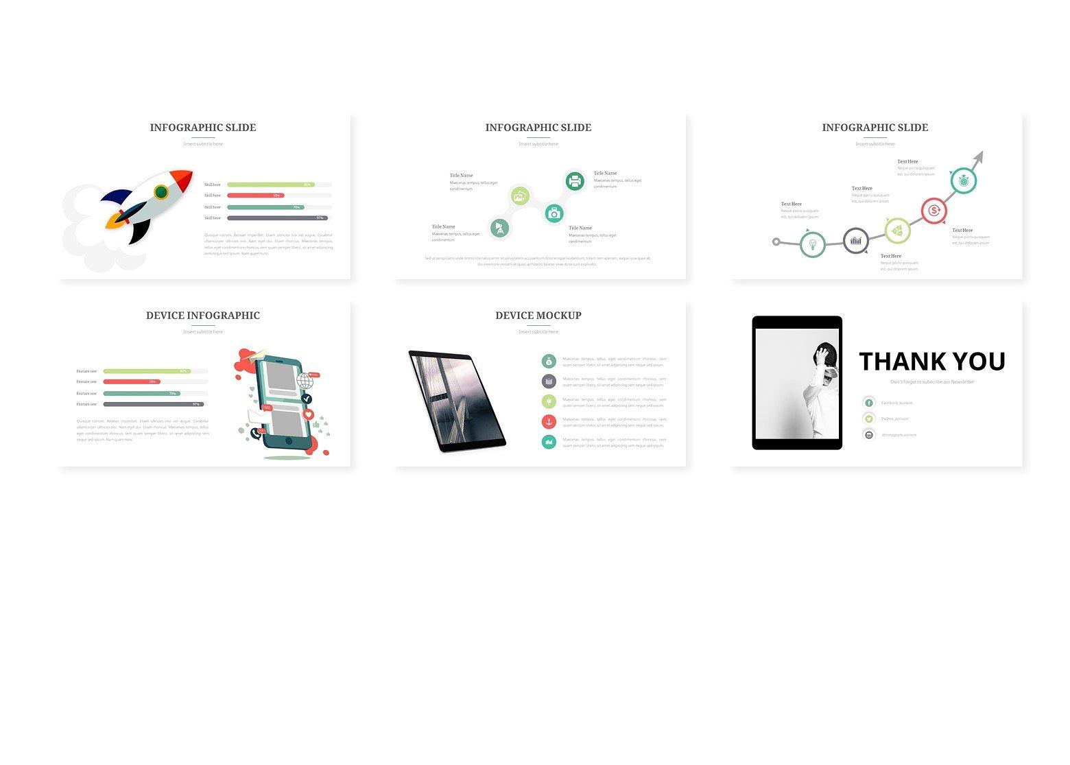 强大的灰色系的个人简历幻灯片模板  Powerful Grey Departmental Resume Slide Template插图3