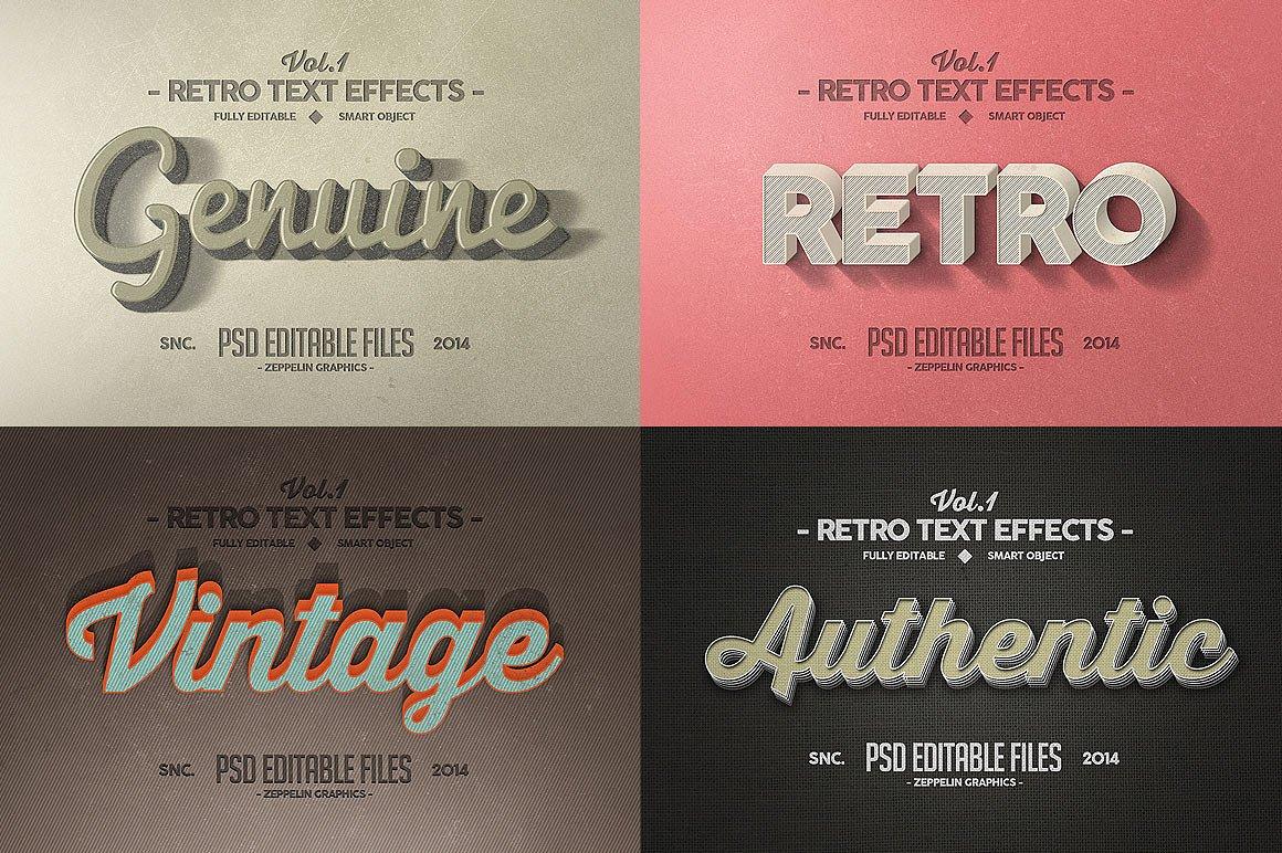 150款非常好用的Photoshop3D文字效果 150 3D Text Effects Bundle for Photoshop [PSD/ASL]插图(11)