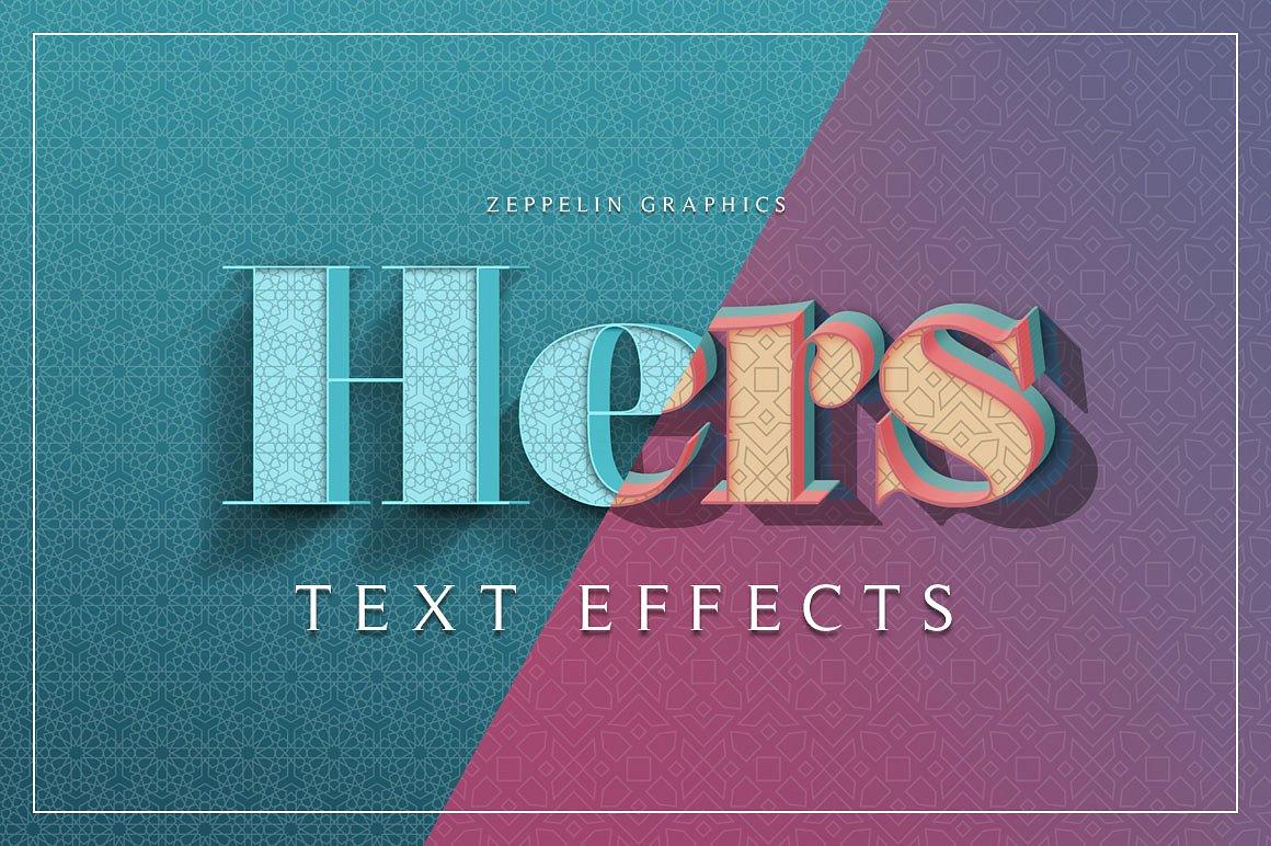 150款非常好用的Photoshop3D文字效果 150 3D Text Effects Bundle for Photoshop [PSD/ASL]插图(45)