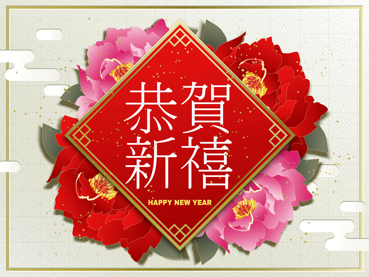 高品质中国传统春节矢量素材EPS High Quality Chinese Traditional Spring Festival Vector Material EPS插图(11)