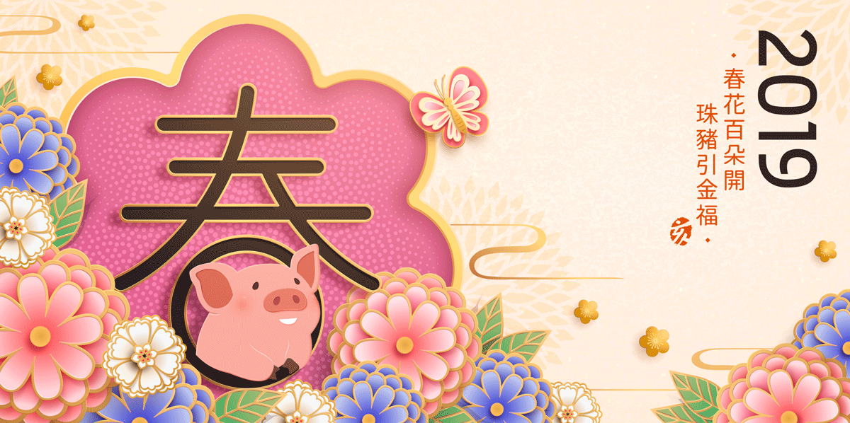 高品质中国传统春节幸福海报矢量模板EPS High Quality Chinese Traditional Spring Festival Happiness Poster Vector Template EPS插图(6)