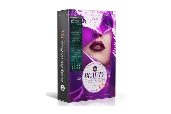 Beauty Retouch PS美容磨皮修复插件简易使用教程