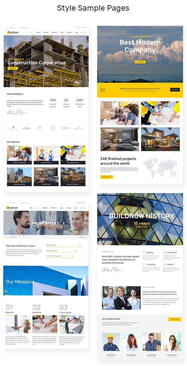 设计建造/建筑工程公司WordPress模板 Buildnow – Construction & Building WordPress Theme插图(1)