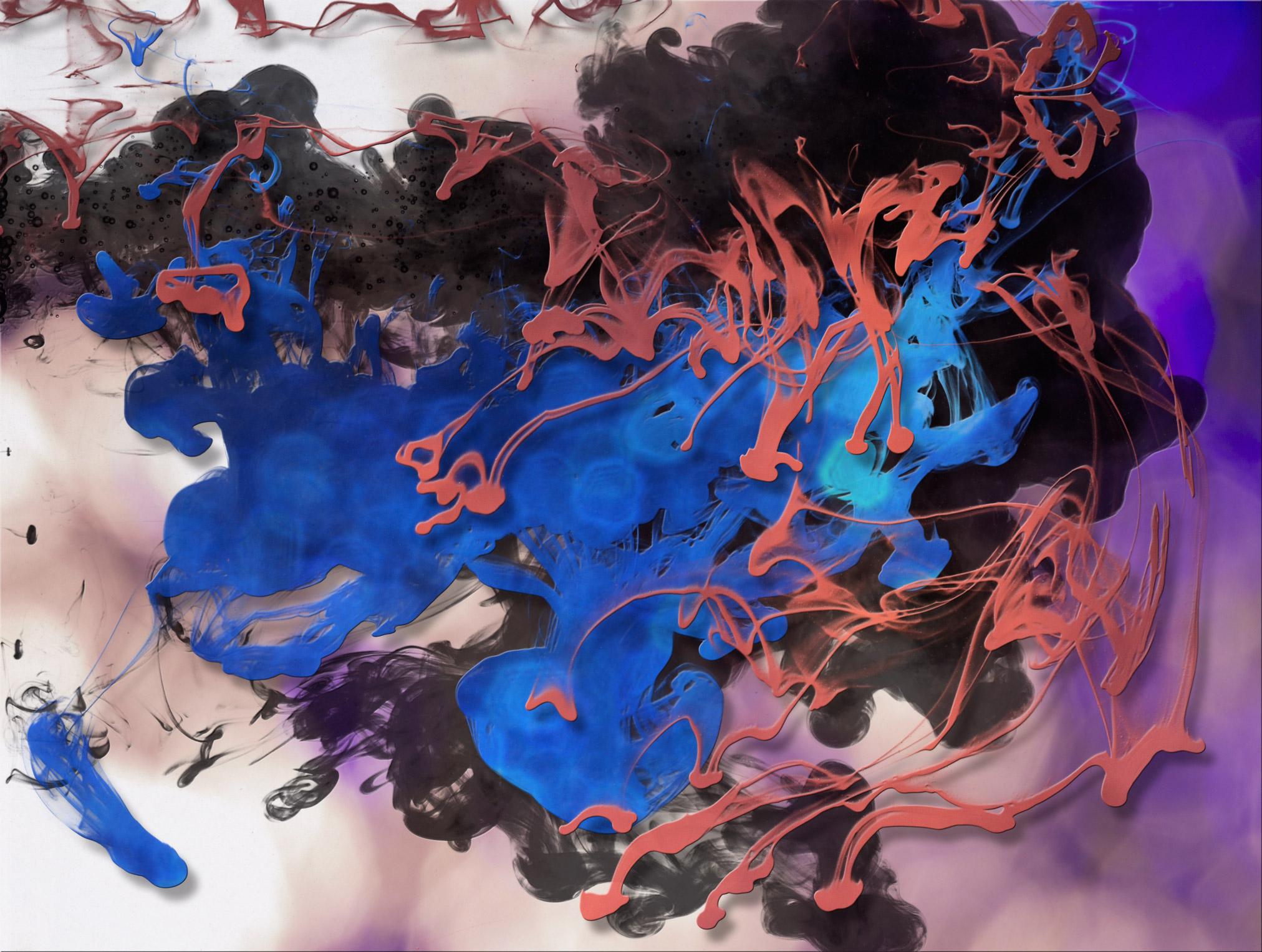 松散流动水墨烟雾背景纹理 Raw Exchange – Liquid Ink Spashes插图