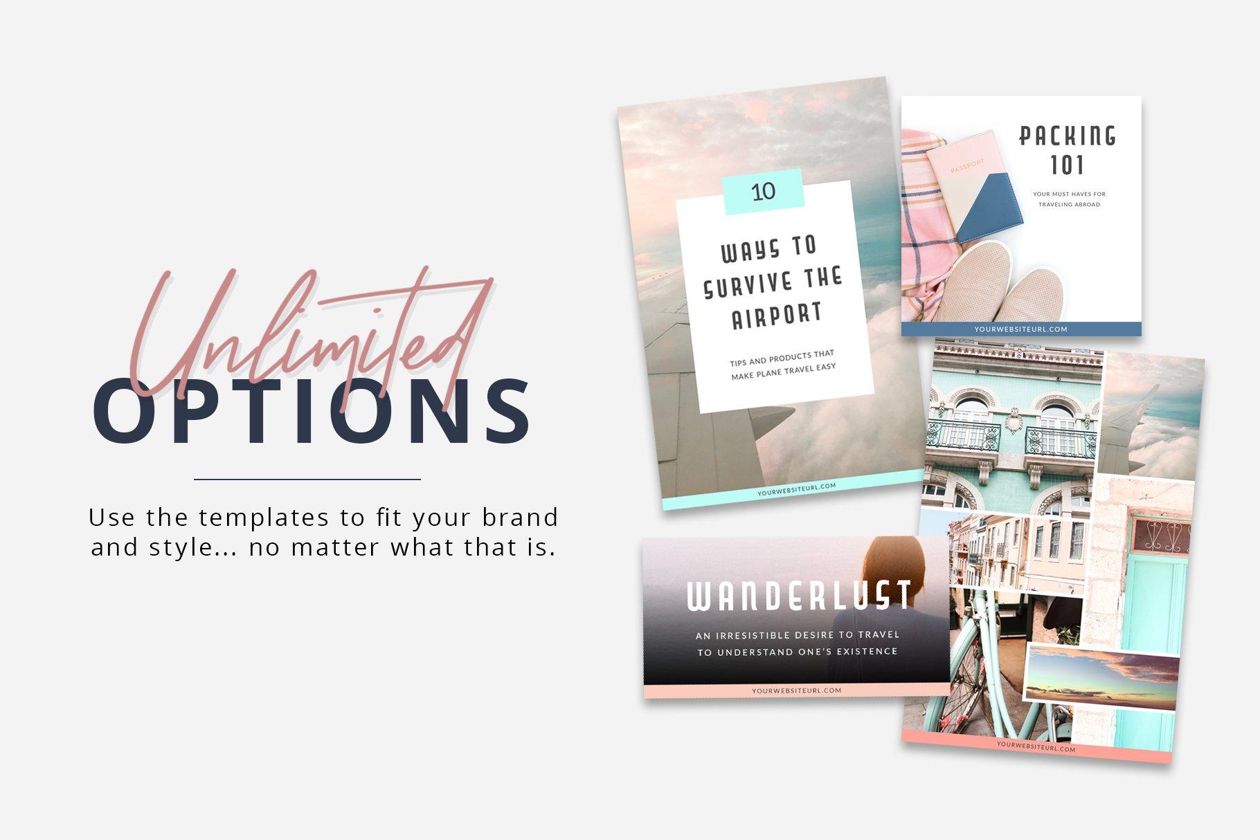 服装鞋子朋友圈主图排版Instagram模板 Social Media Templates Bundle插图(2)