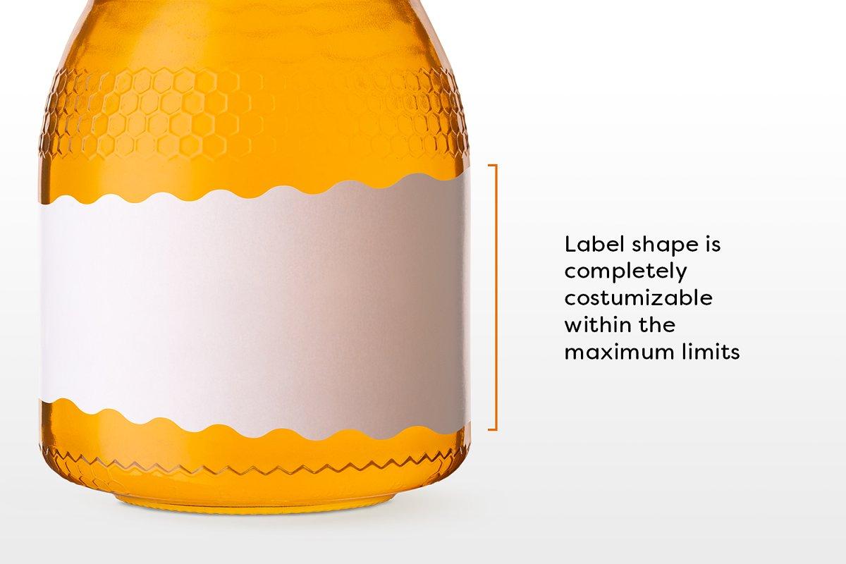 蜂蜜品牌VI设计提案透明玻璃瓶包装展示样机 Honey Jar Mockups插图(2)