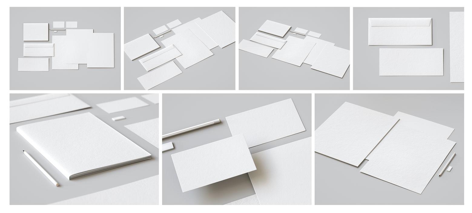 精选免费高品质品牌VI设计提案办公文创名片信纸展示样机 Identity Design Mockups Pack插图(8)