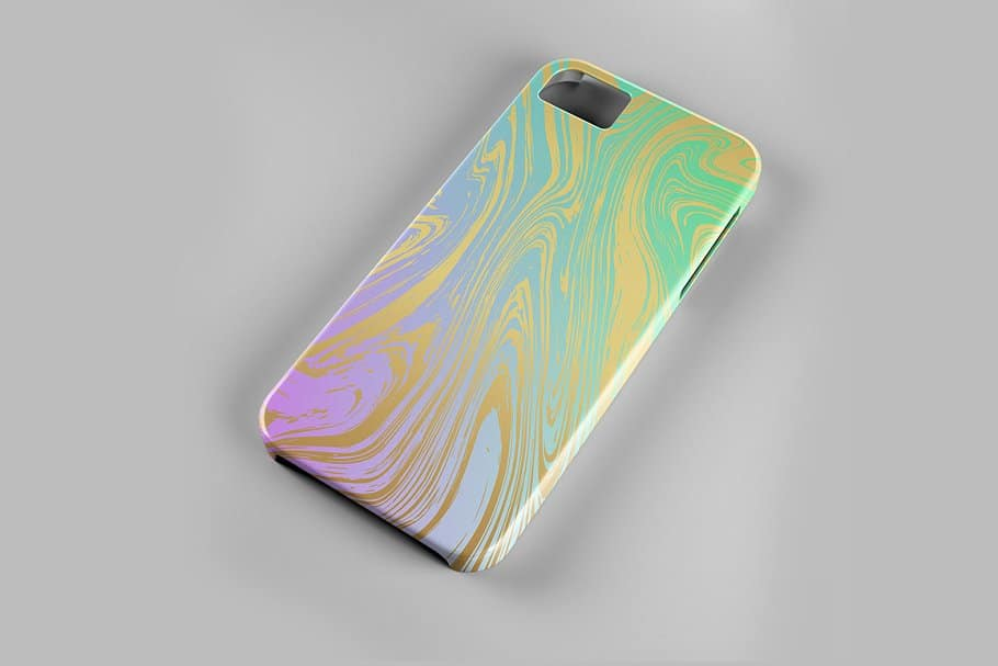 婚礼请柬包装背景印刷大理石纹理 Set Marble Vector Textures.插图(12)
