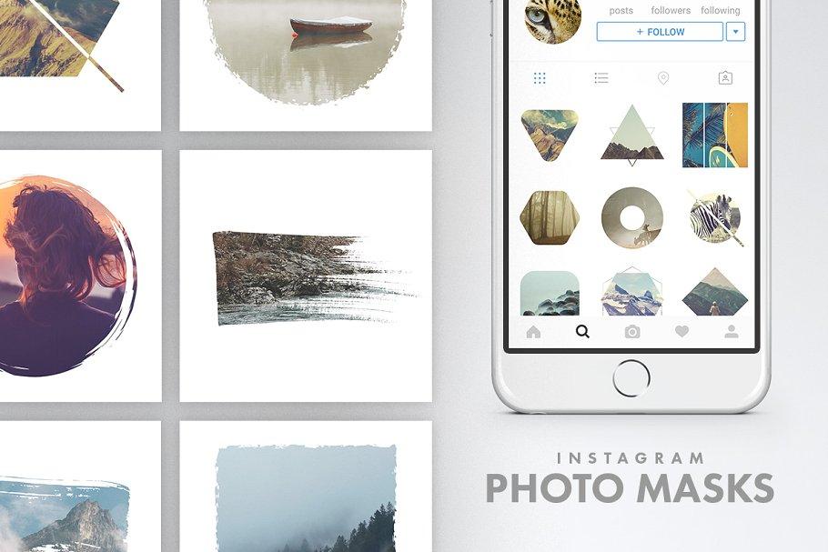 时尚豪华的服装产品营销海报INS风模板 Luxury Instagram Bundle插图(7)