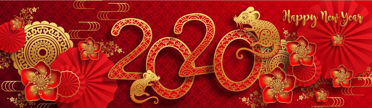 高品质2020年农历鼠年EPS矢量图形合集 High quality 2020 Lunar Year of the Rat EPS Vector Graphic Collection插图(18)
