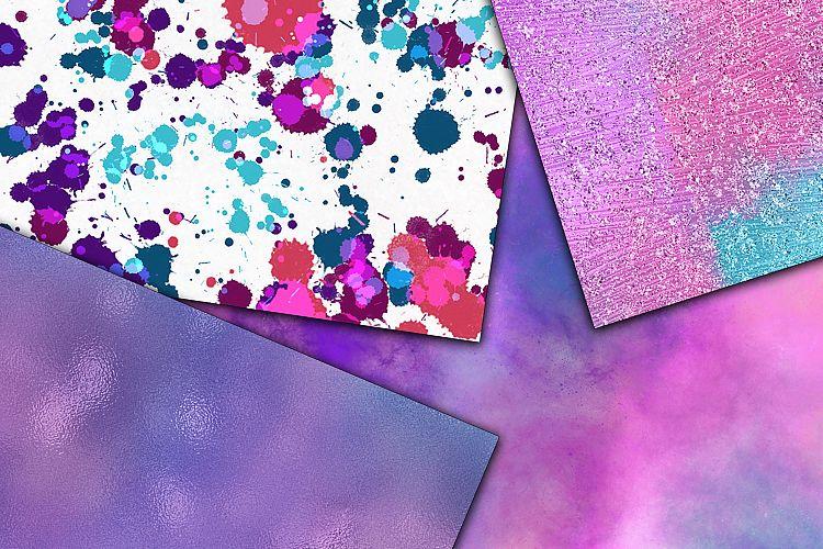 神奇的闪亮闪亮的魔法贴图背景纹理 Magical Textures Digital Papers插图(4)