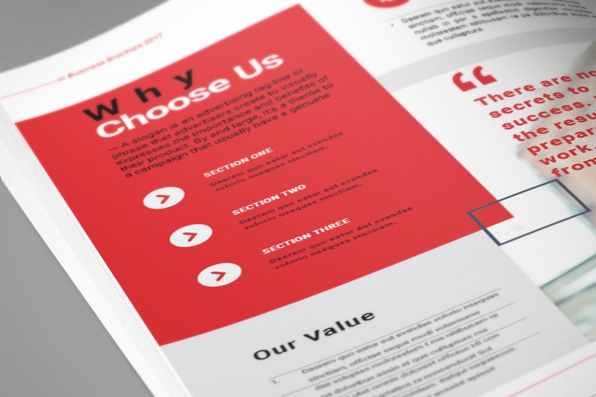 企业业务营销宣传册INDD模板 Exeelo Profile Brochure插图(11)