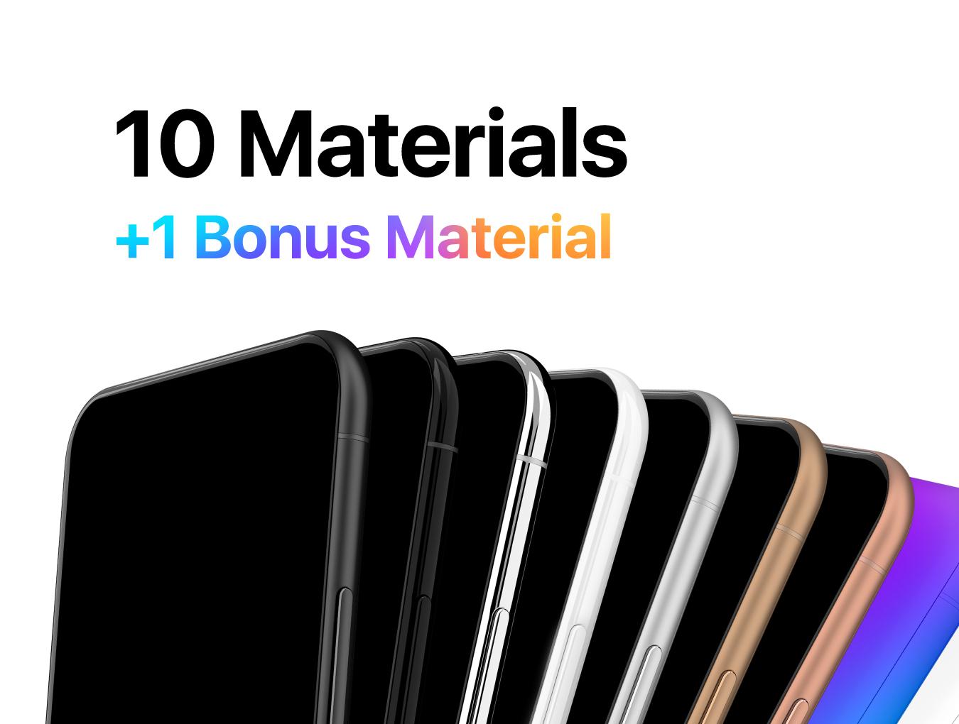 精美的150多种多角度通用手机样机 everydevice™ 150+ Mobile Mockups插图(6)