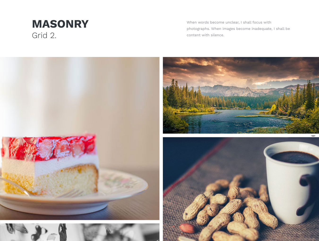 简约规整的WordPress主题摄影博客网站模板 PacificBlue Portfolio WP插图(1)