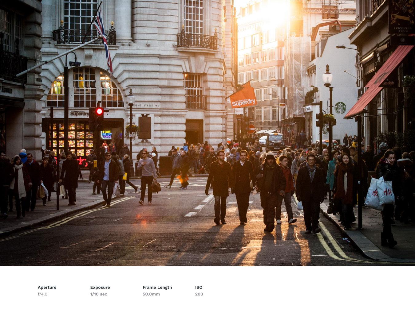 简约规整的WordPress主题摄影博客网站模板 PacificBlue Portfolio WP插图(4)