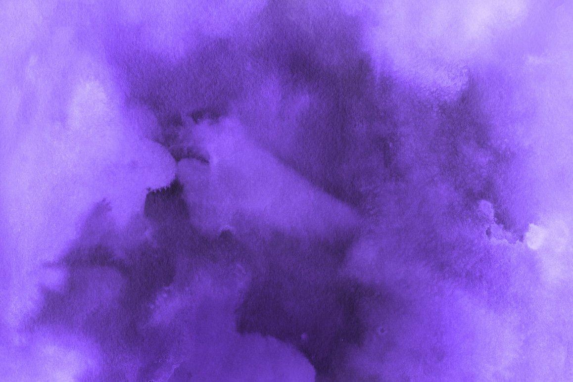 175款手绘多彩水彩背景纹理PNG图集 Monochromatic Watercolor Backgrounds插图(14)