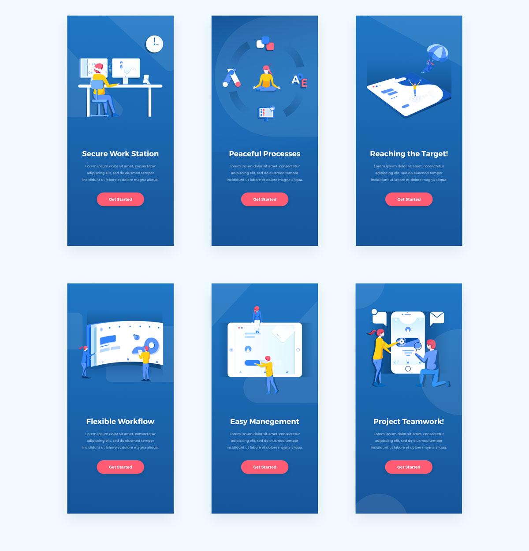 精心设计的团队合作和协作EPS矢量插图 Teamwork & Collaboration Illustrations插图(15)