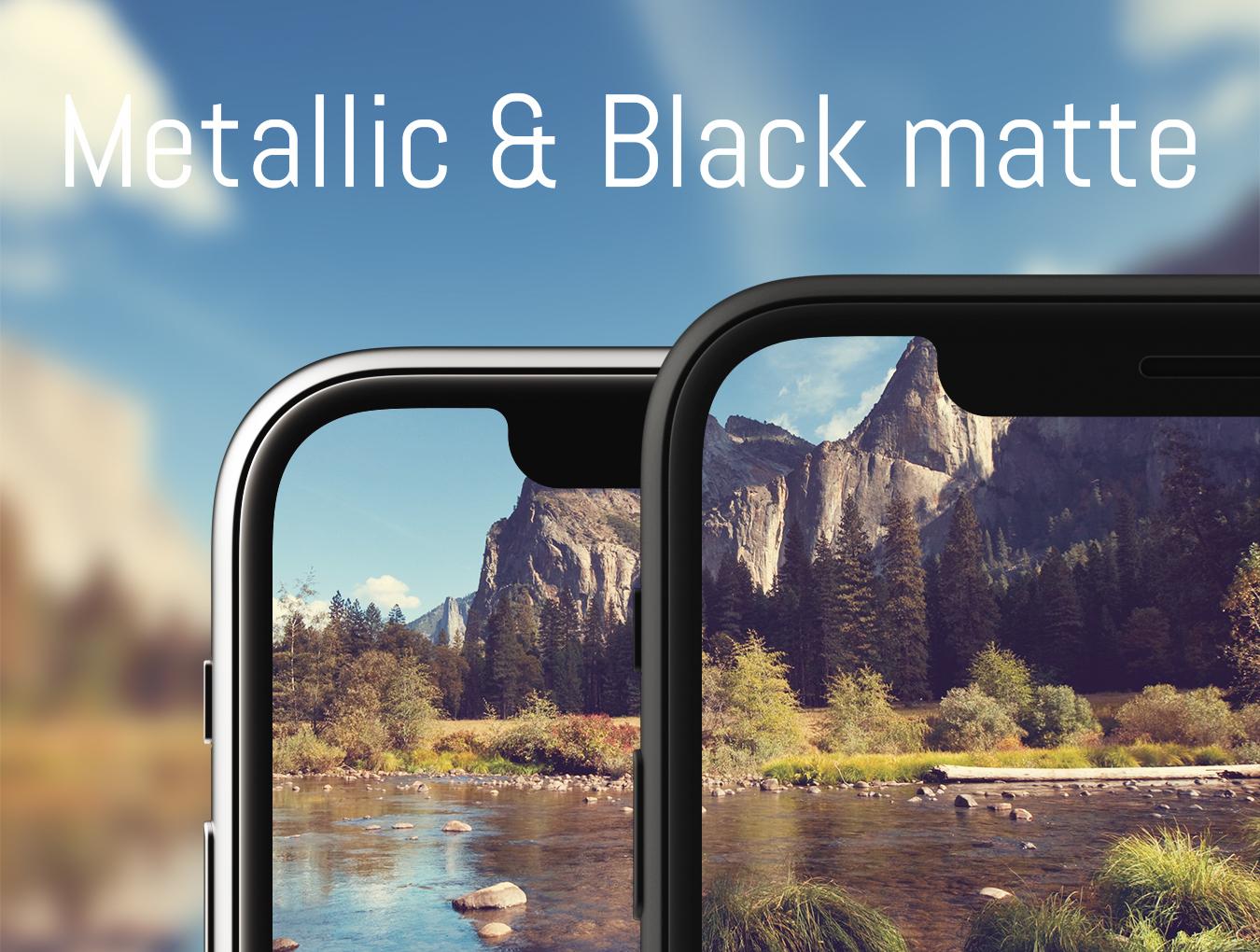 高品质背景装饰iPhone X AIR样机 iPhone X AIR Mockup插图(2)