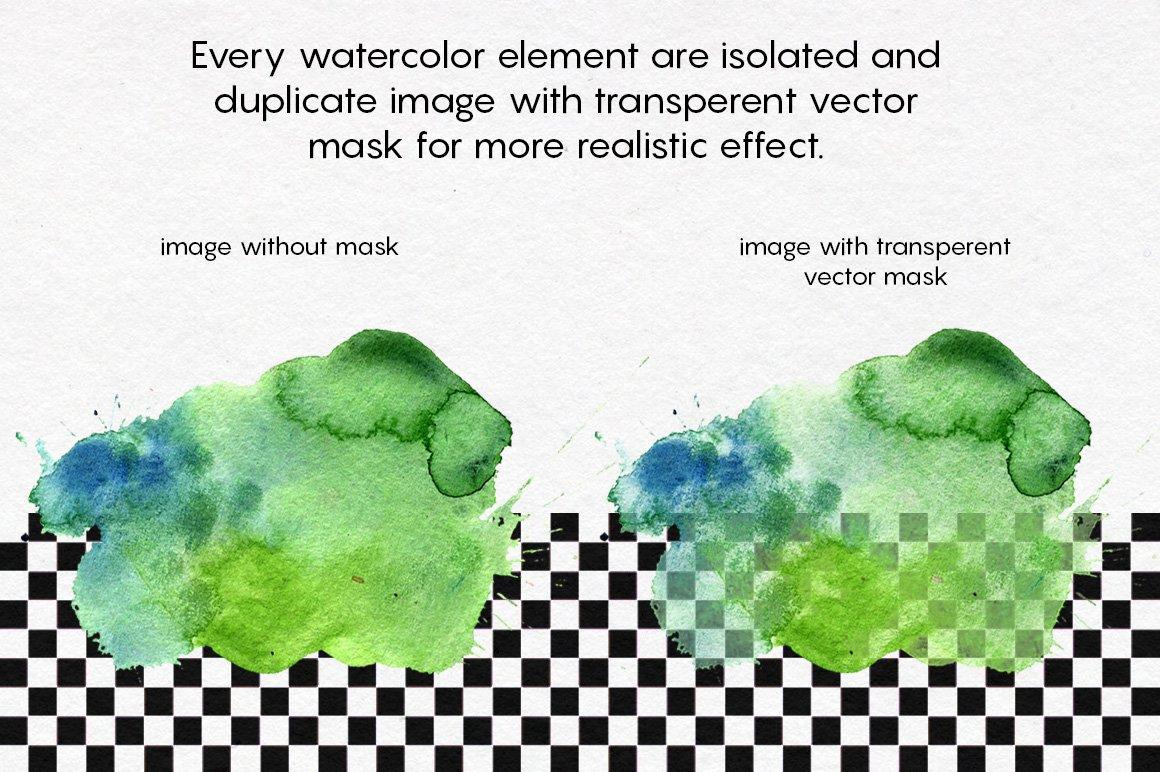高分辨率手绘水彩水墨背景纹理合集 WATERCOLOR textures pack!插图(6)