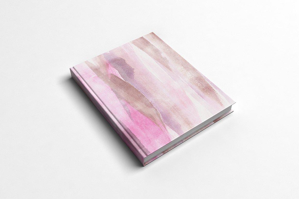 现代时尚抽象手绘水彩背景纹理 Modern Fluid & More Patterns插图(10)