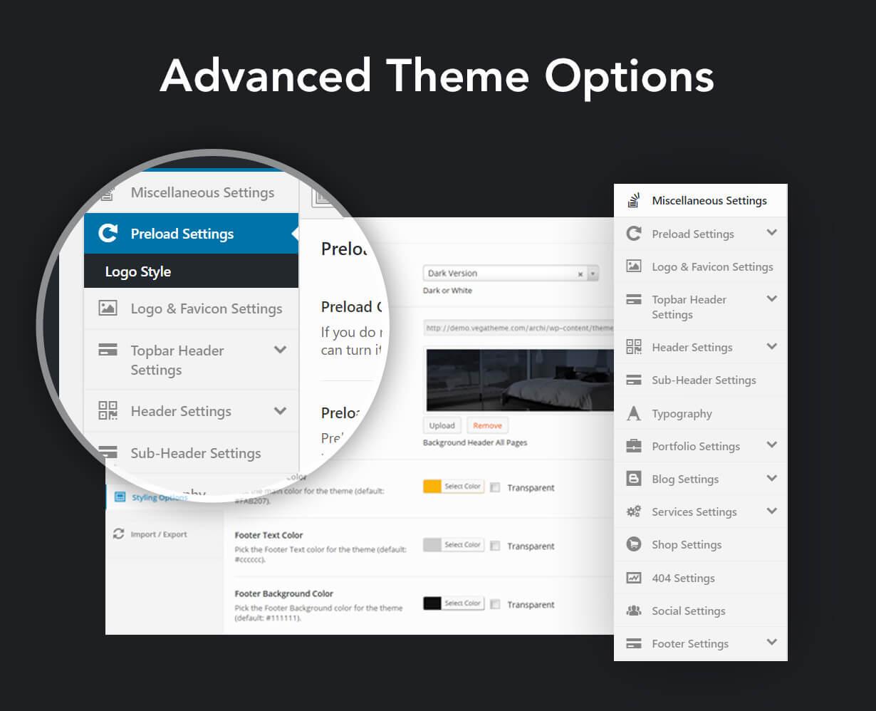 现代多用途室内设计风格WordPress主题模板 Archi – Interior Design WordPress Theme插图(10)