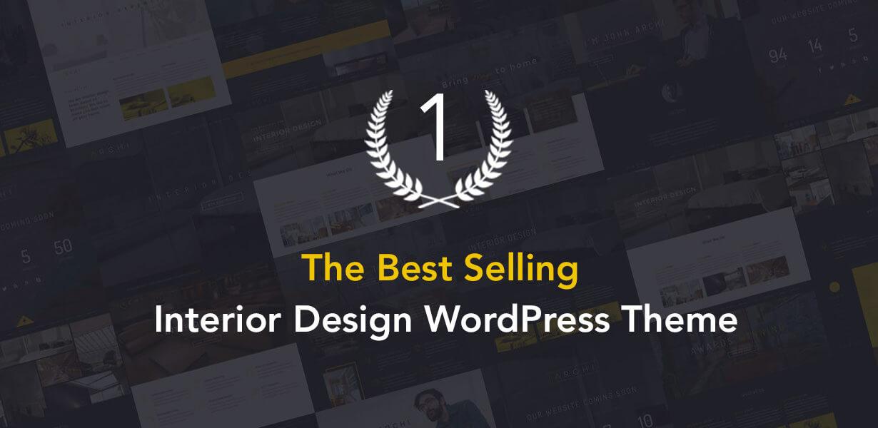 现代多用途室内设计风格WordPress主题模板 Archi – Interior Design WordPress Theme插图