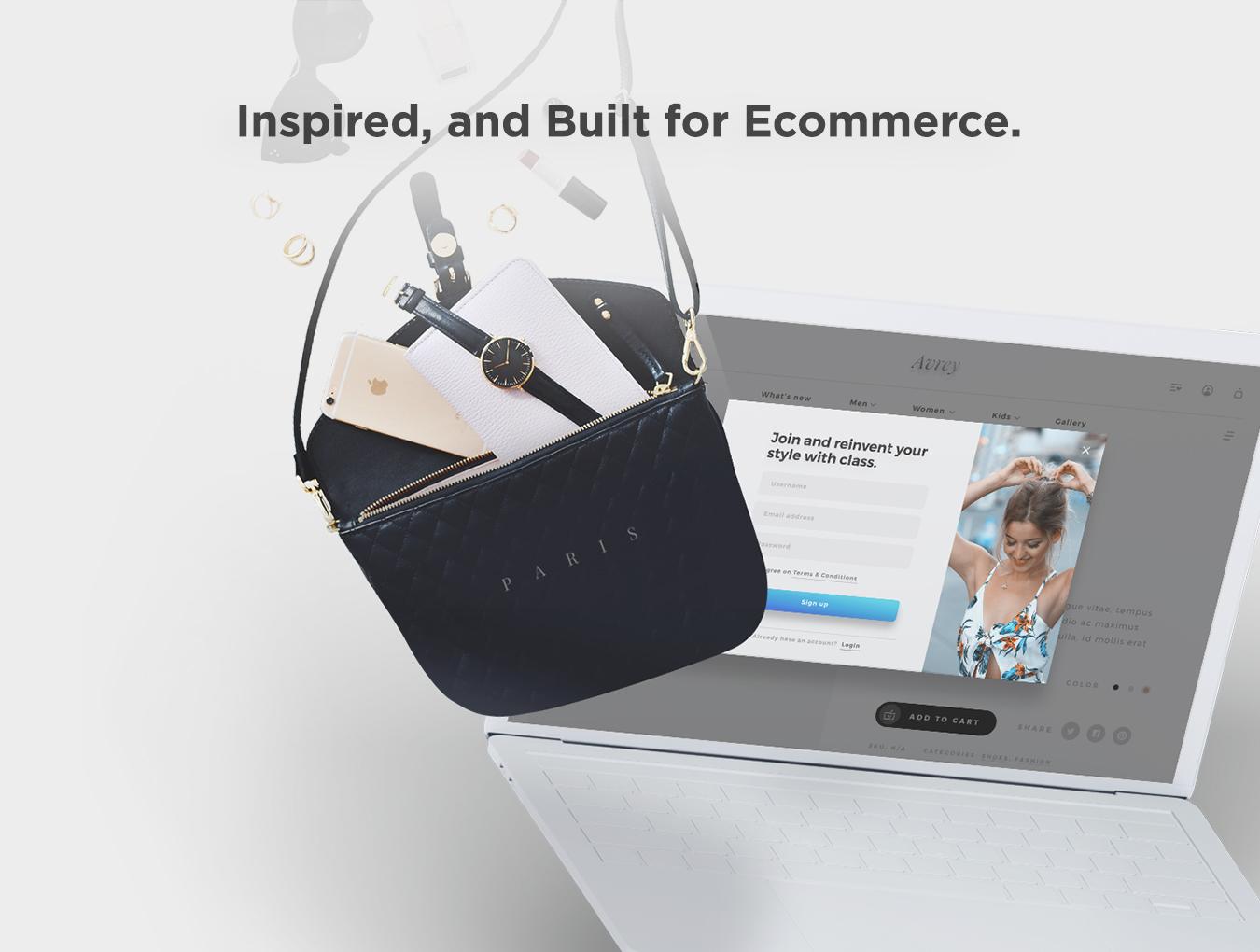 精美的服装鞋子电子商务Web UI套件 Sierra – E-commerce Web UI Kit插图(6)