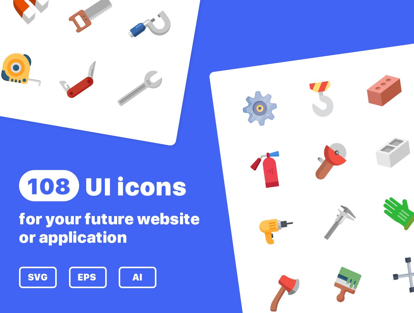 36个独特的UI工具仪器矢量图标 Instruments Icon Set插图