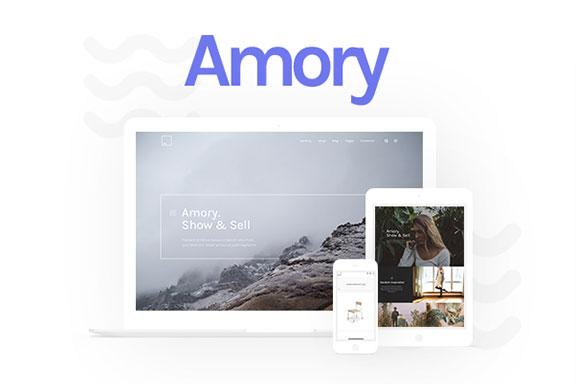 Amory – 精美的响应式设计电子商务WP主题模板