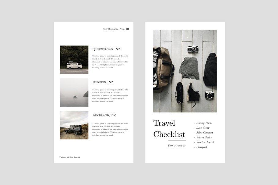 摄影师旅行摄影Instagram故事模板社交媒体推广素材包 Oswald Instagram Stories Templates插图(1)