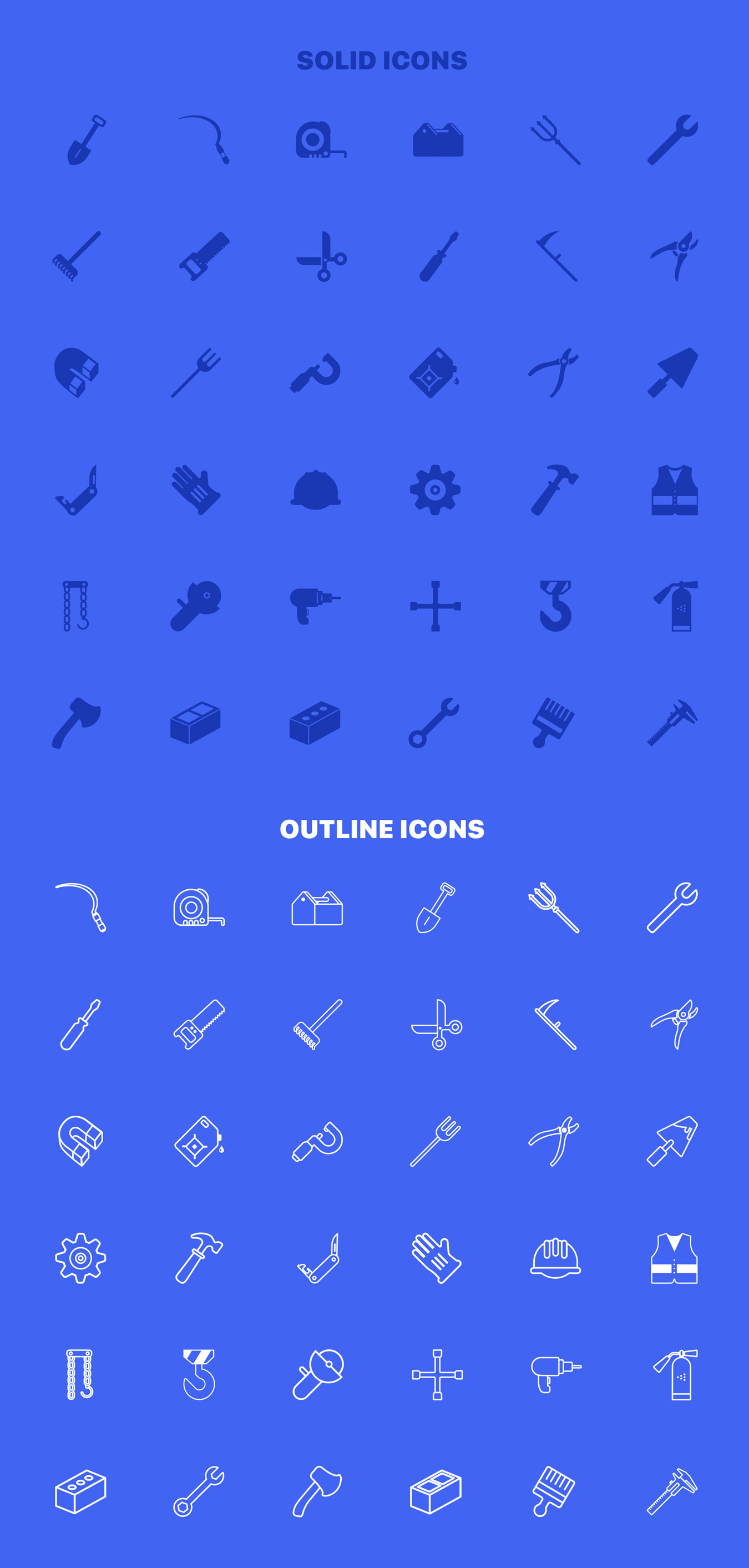 36个独特的UI工具仪器矢量图标 Instruments Icon Set插图5