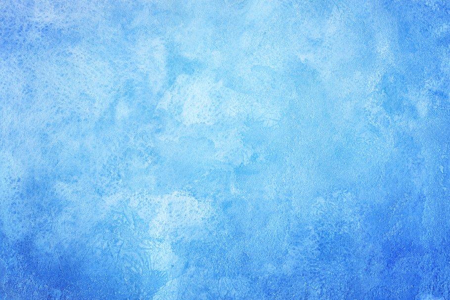 30个富有创意的手工冬季水彩背景纹理 30 Winter Watercolor Backgrounds插图(4)