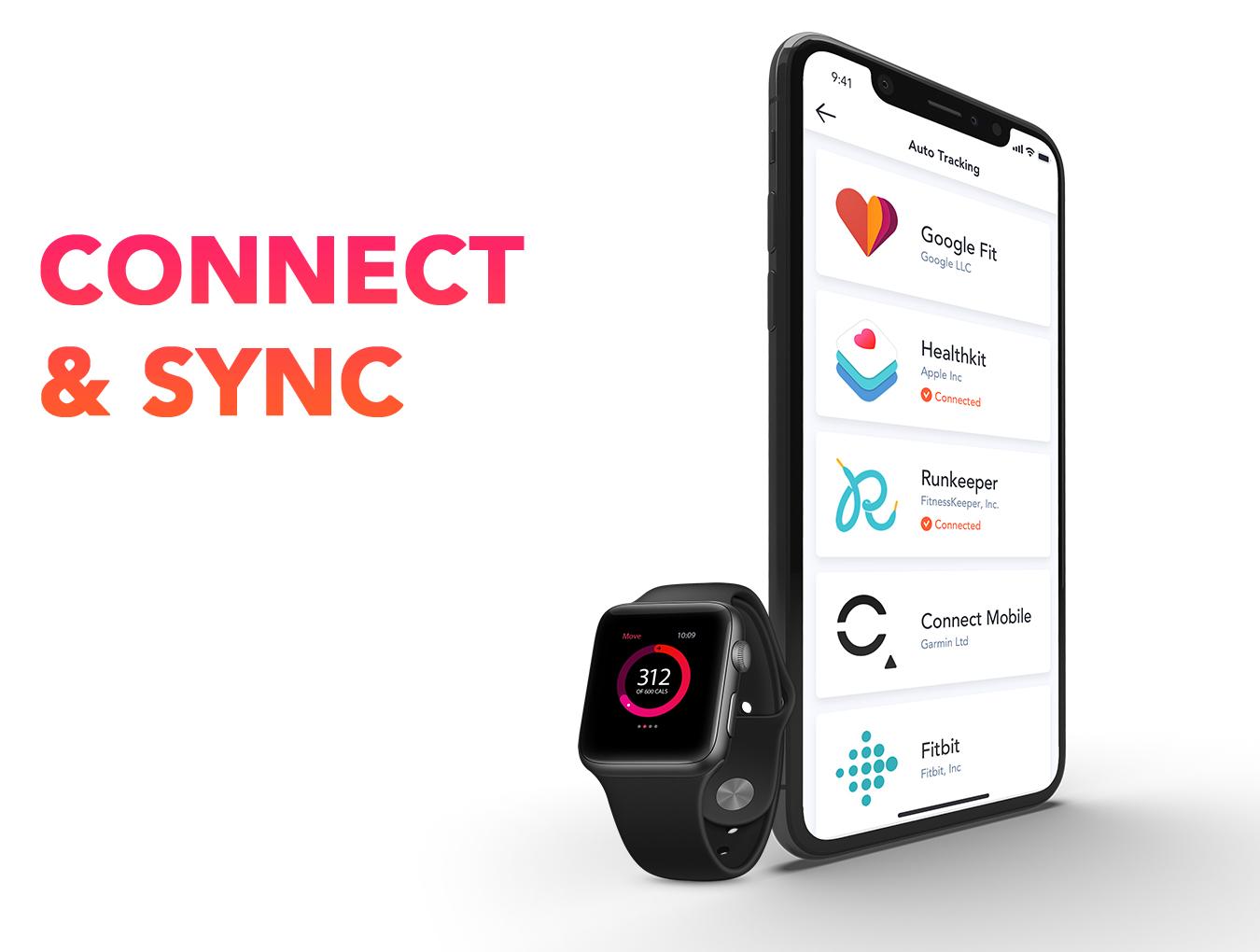 体能健康数据统计&健身培训iOS Apps UI套件 Fitness Love 2.0插图(7)