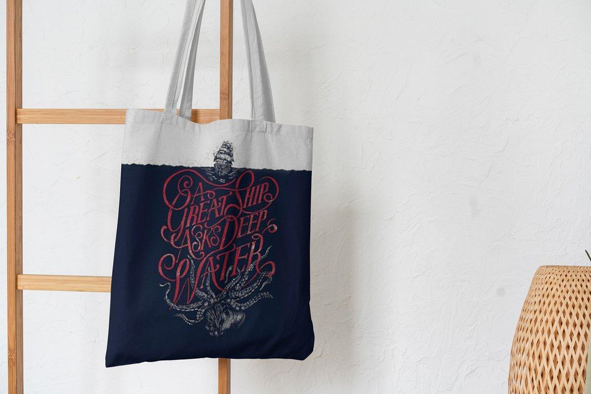 23款时尚生活方式手提帆布袋设计样机模板素材合集 Canvas Tote Bag Mockup Lifestyle插图(11)