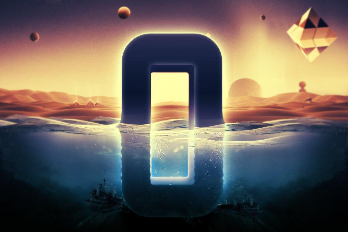 科幻电影半水下文字标志标题3D效果PS图层样式模板 Underwater Text Logo Effect插图(4)