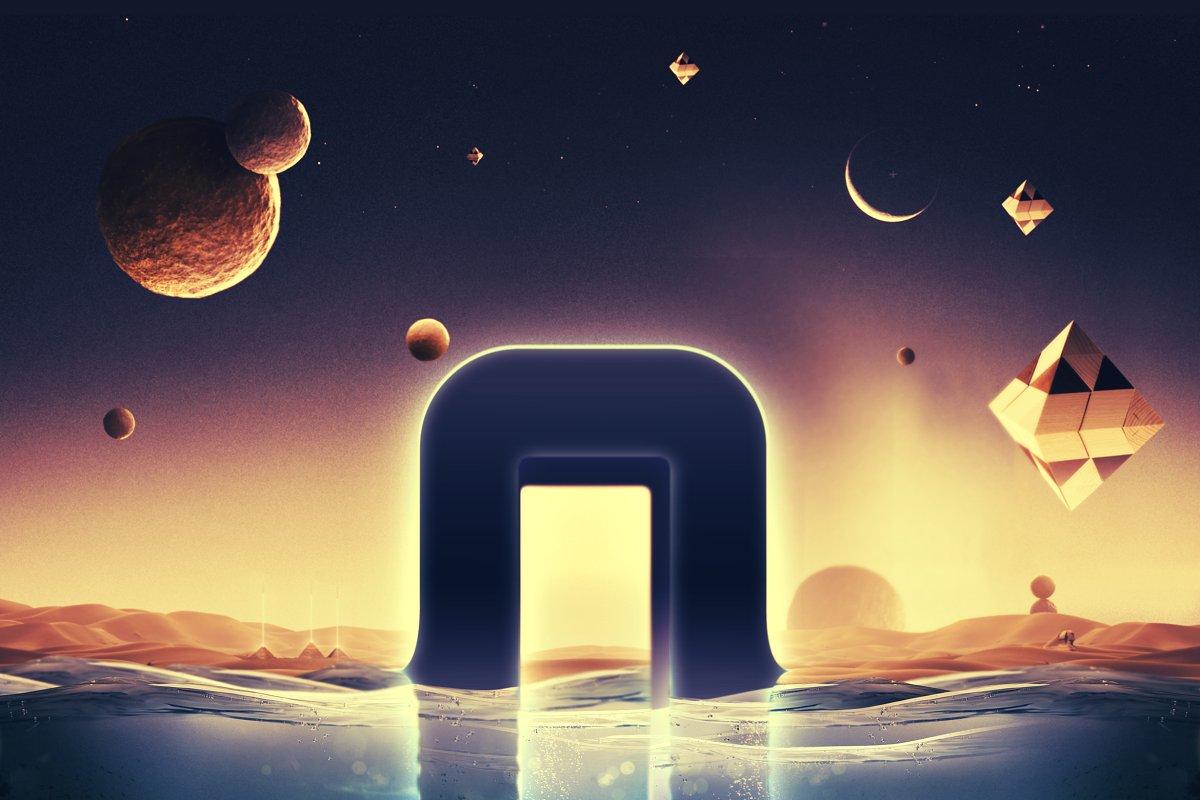 科幻电影半水下文字标志标题3D效果PS图层样式模板 Underwater Text Logo Effect插图(3)