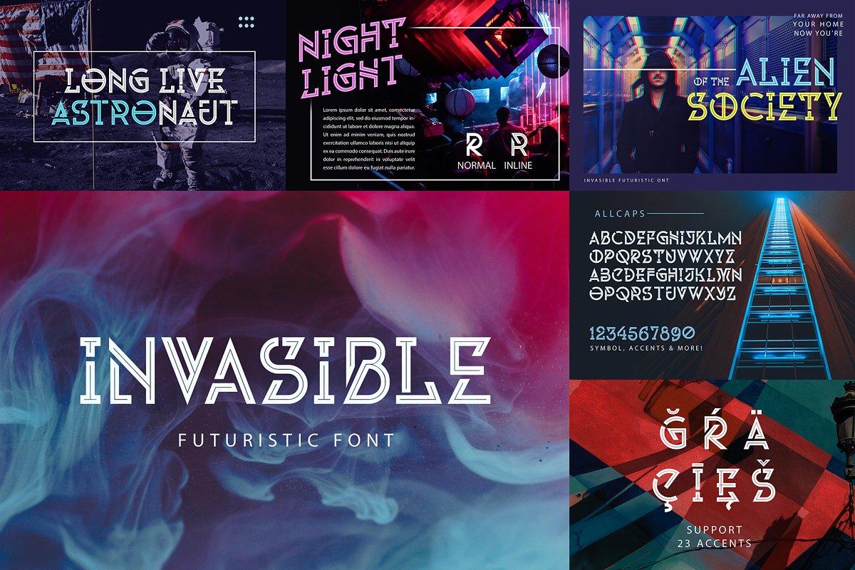 2019年超巨141个英文字体包下载 Font Bundle 2019插图(14)