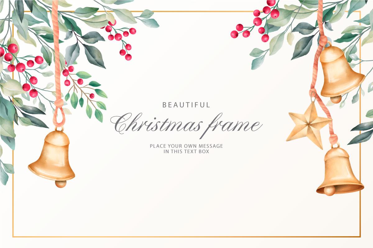 优雅可爱圣诞节主题元素设计矢量素材包 Elegant and Lovely Christmas Backgrounds Set插图(27)