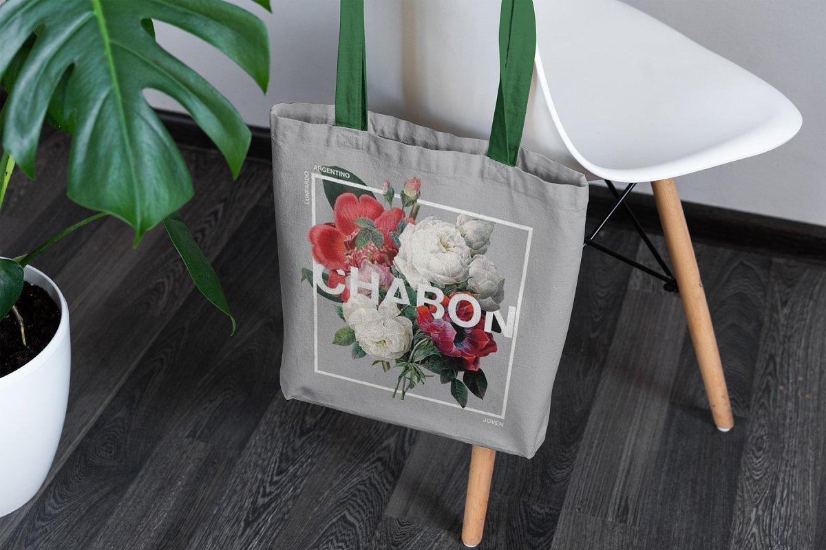 23款时尚生活方式手提帆布袋设计样机模板素材合集 Canvas Tote Bag Mockup Lifestyle插图(16)