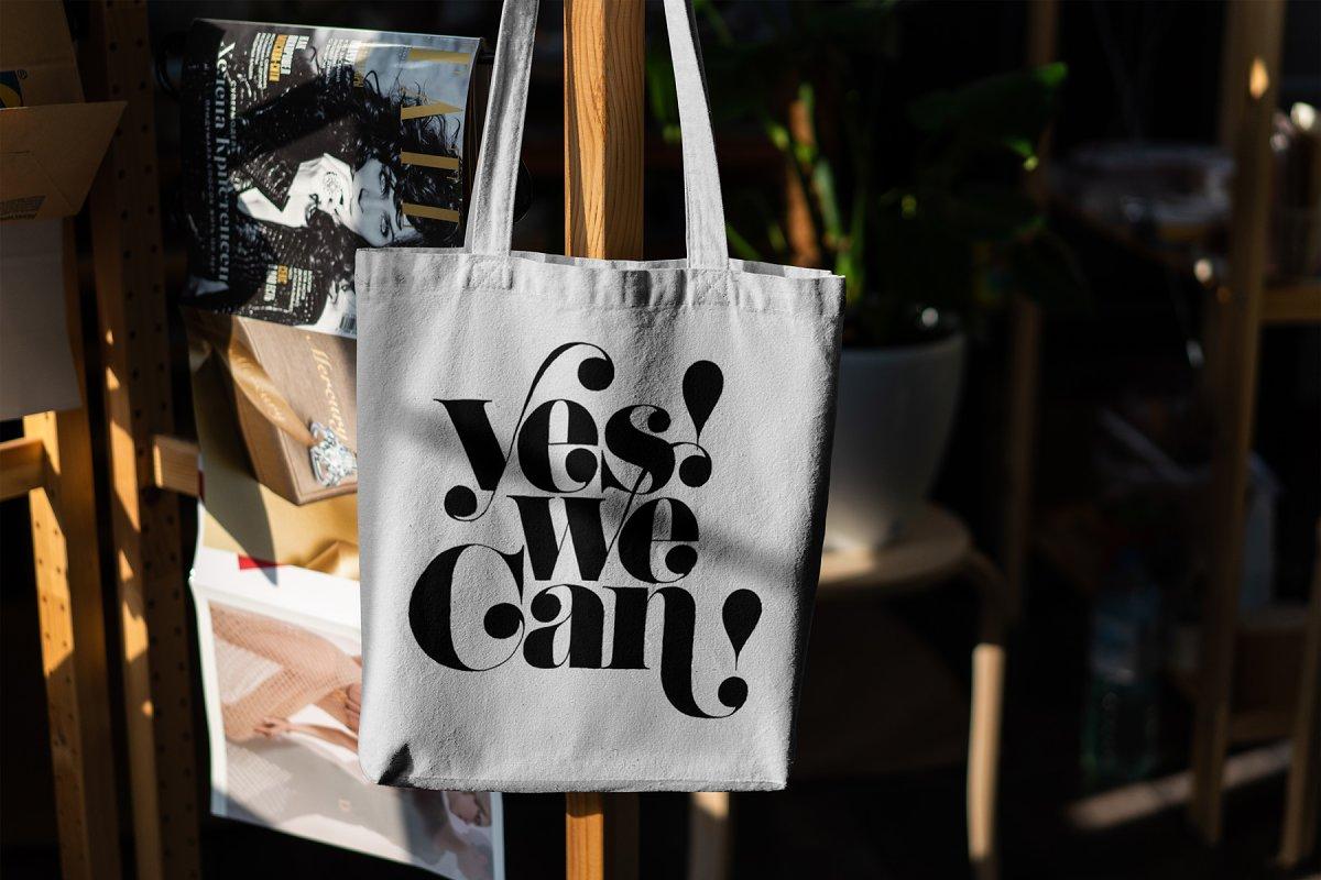 23款时尚生活方式手提帆布袋设计样机模板素材合集 Canvas Tote Bag Mockup Lifestyle插图(17)