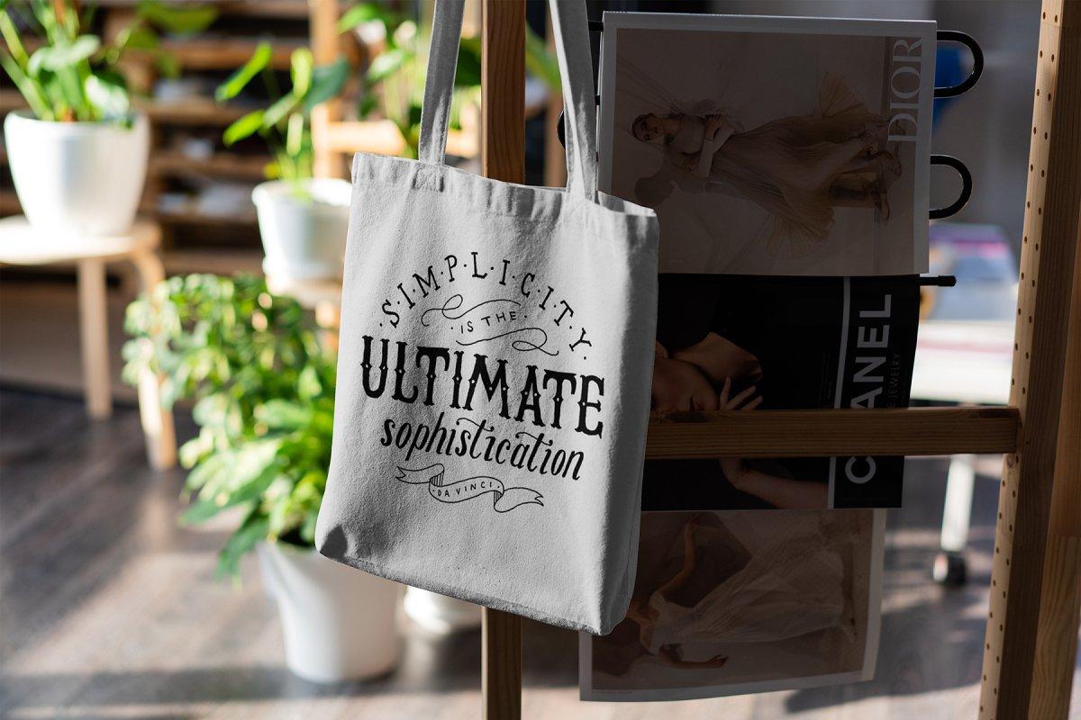 23款时尚生活方式手提帆布袋设计样机模板素材合集 Canvas Tote Bag Mockup Lifestyle插图(18)