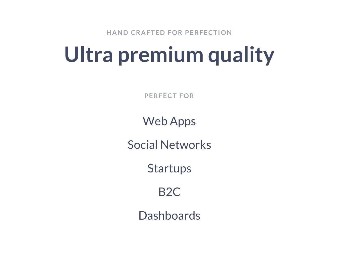 用户管理信息系统界面设计WEB UI模板素材 B2C Dashboards UI Kit插图(1)