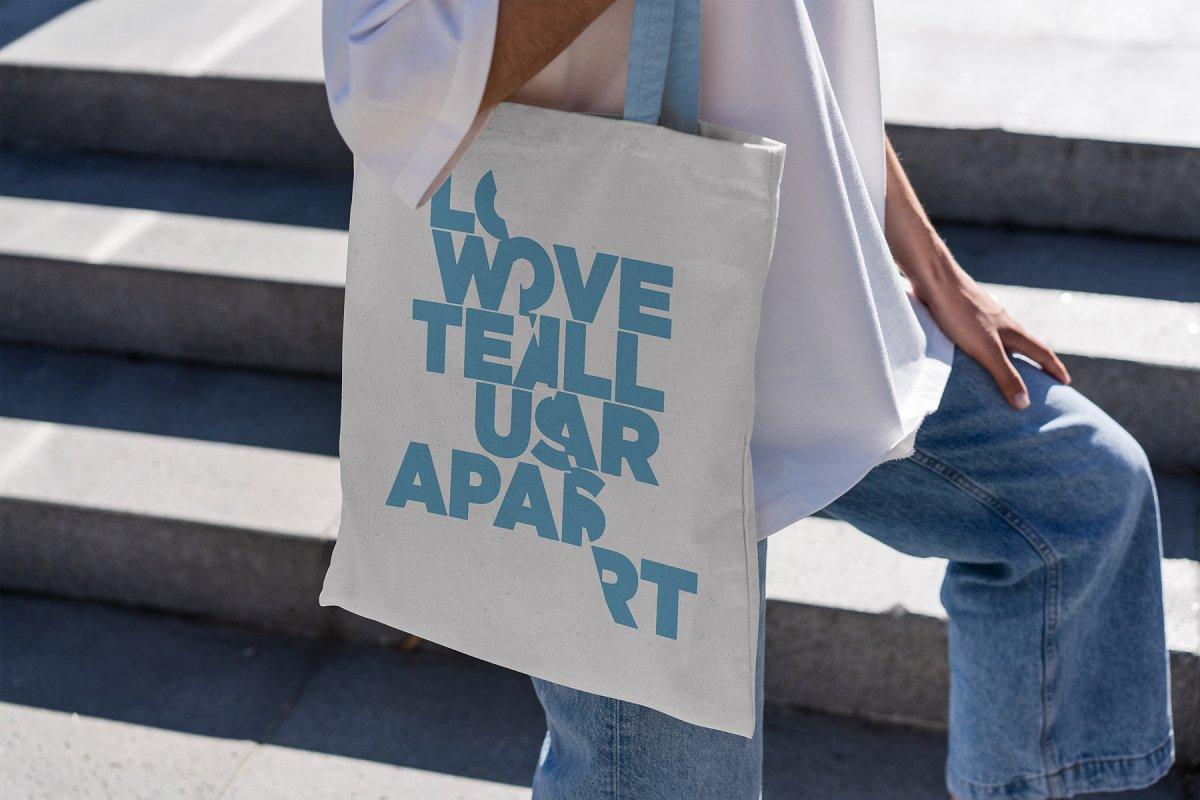 23款时尚生活方式手提帆布袋设计样机模板素材合集 Canvas Tote Bag Mockup Lifestyle插图(4)
